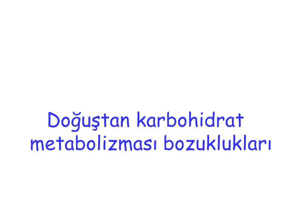 Doğuştan karbohidrat metabolizması bozuklukları