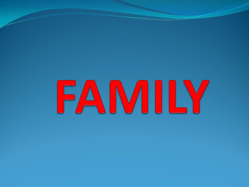 Yazılışı /Okunuşu/ Türkçesi Father / fa:dı/ : baba Mother / madı/ : anne Brother / bradı/ : erkek kardeş Sister / sistı/ : kız kardeş Grandmother / grandma:dı/ : büyük anne Grandfather / grandfa:dı/ : büyük baba Uncle / ankıl/ : dayı, amca Aunt / a:nt/ : teyze, hala Wife / wayf / : kadın eş Husband / hazbınd/ : erkek eş, koca Daughter / do:tı/ : kız evlat Son / san/ : oğul Parents / peırınts/ : evebeyn Friend / frend/ : arkadaş Cousin / k^z'ın/ : kuzen Elder sister / el'dır sistı/ : abla Elder brother / el'dır bradı/ : ağabey, abi Bride / brayd/ : gelin Son-in-law / san inlo/ : damat Step mother,father / step madı,fa:dı/ : üvey anne, baba Step sister,brother / step sistı, bradı/ : üvey kız yada üvey erkek kardeş