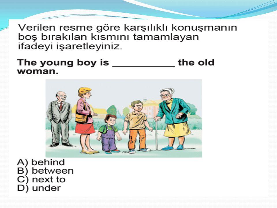 Yandaki Ali'nin neyi olabilir ? A)Mother B)Father C)Brother D)Grandmother