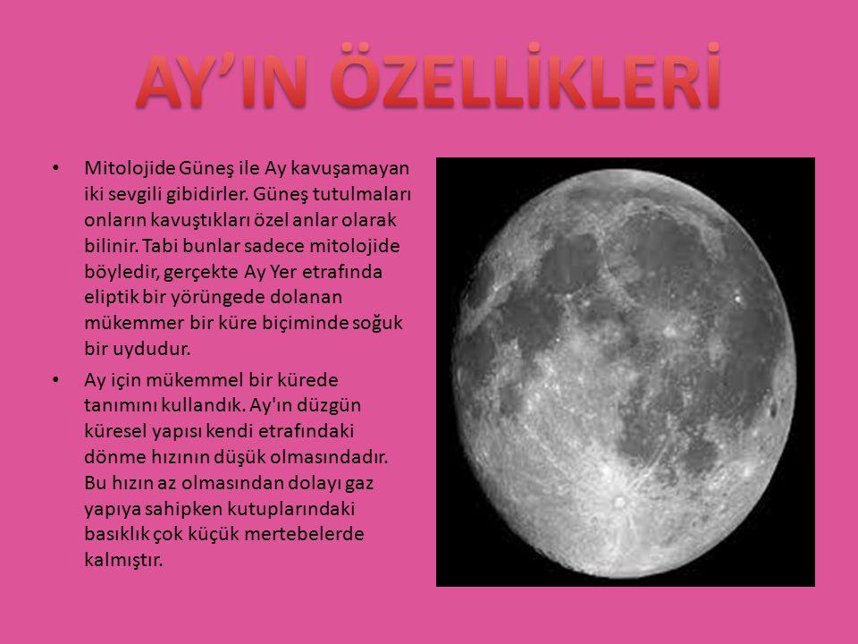 Mitolojide Güneş ile Ay kavuşamayan iki sevgili gibidirler. Güneş tutulmaları onların kavuştıkları özel anlar olarak bilinir. Tabi bunlar sadece mitol