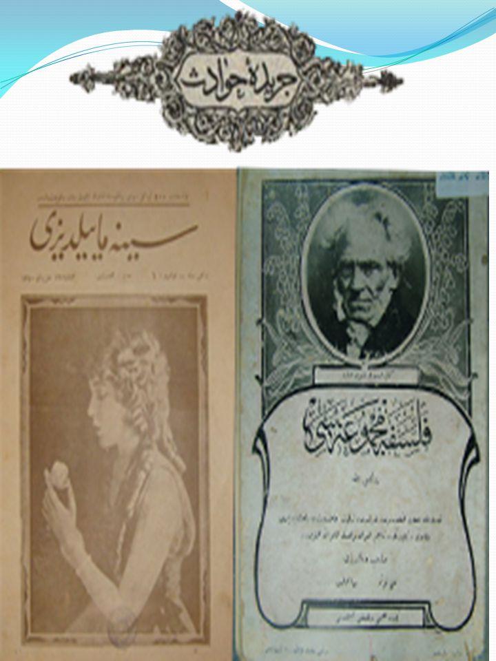 Tercümân-ı Ahvâl Agâh Efendi'yle birlikte Şinasi, 1860 yılında, İlk özel gazete, Halkı aydınlatmak için.