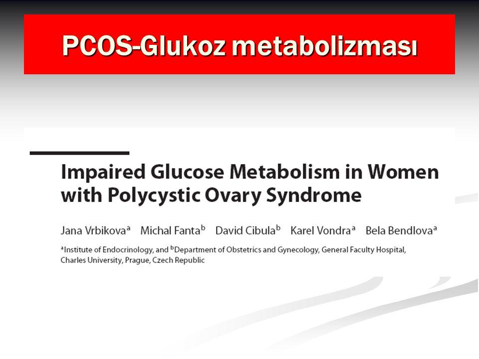 PCOS-Glukoz metabolizması