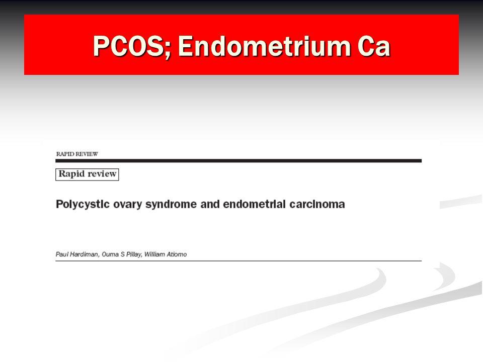 PCOS; Endometrium Ca