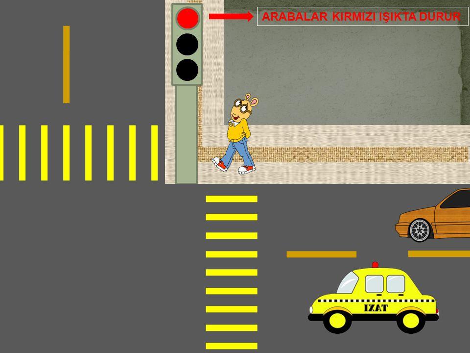 Eğer Arabalar bu kurallara uymazsa kazalar olabilir.O yüzden kurallara uymak son derce önemlidir. Örnek : Araba kırmızı ışıkta durmayıp geçerse trafik