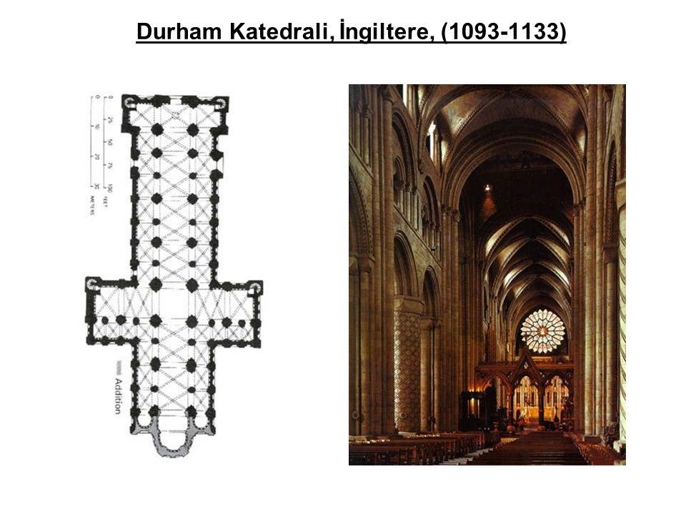 Durham Katedrali, İngiltere, (1093-1133)