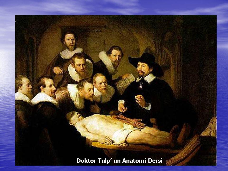 Doktor Tulp' un Anatomi Dersi