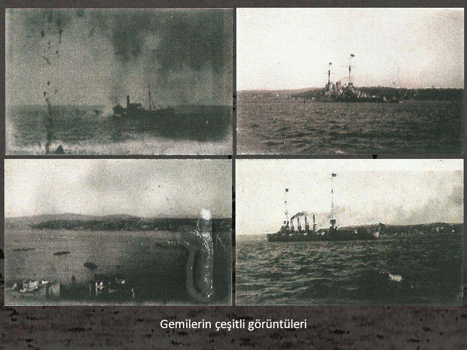 Gemilerin çeşitli görüntüleri