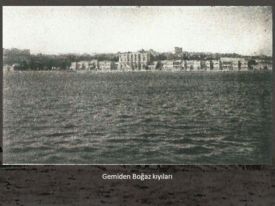 Gemiden Boğaz kıyıları