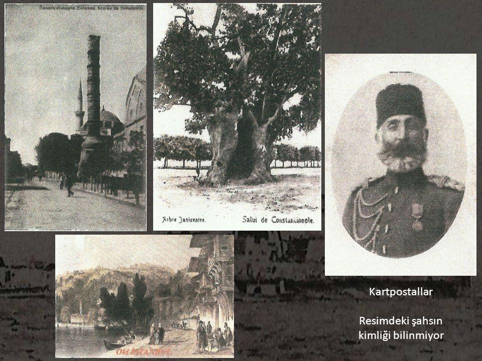 Kartpostallar Resimdeki şahsın kimliği bilinmiyor