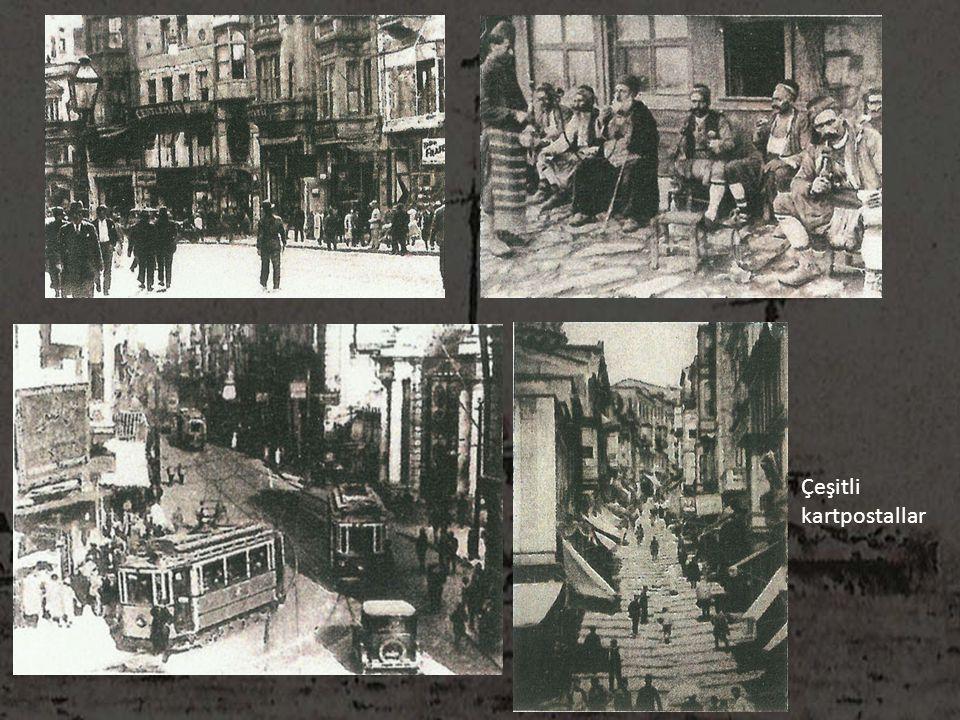 Çeşitli kartpostallar