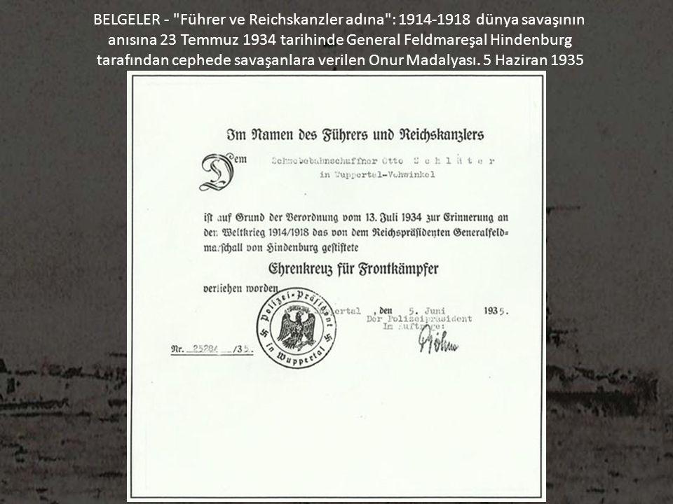 BELGELER -