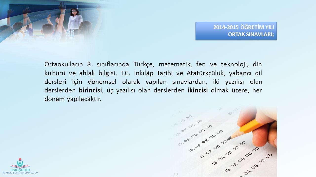  Her bir ders yazılısı başladıktan sonra ilk 15 (onbeş) dakika içerisinde gelen öğrenciler sınava alınacaktır.