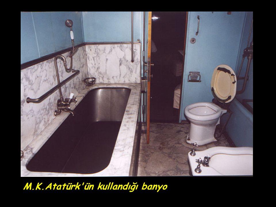 M.K.Atatürk'ün kullandığı banyo