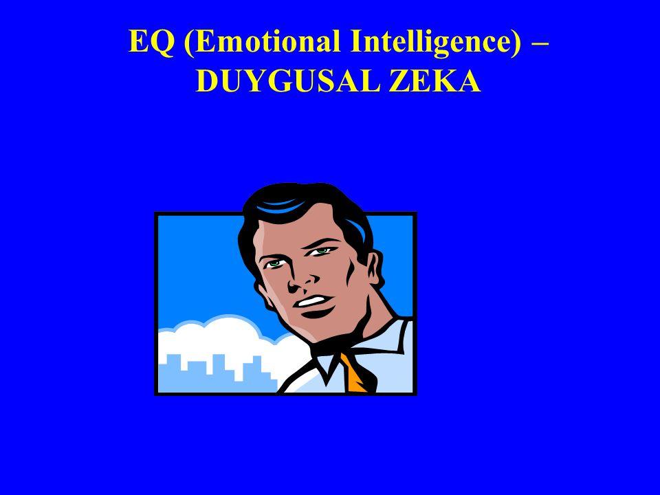 EQ (Emotional Intelligence) – DUYGUSAL ZEKA