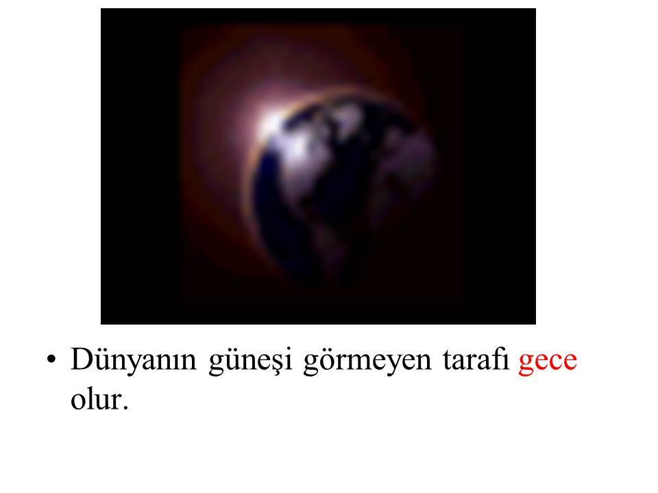 Güneşimiz eğer bizim Dünya'mıza gereğinden fazla yakın olsaydı, Dünyamız bayağı ter dökerdi hatta erirdi.