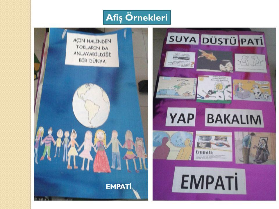 Afiş Örnekleri EMPAT İ
