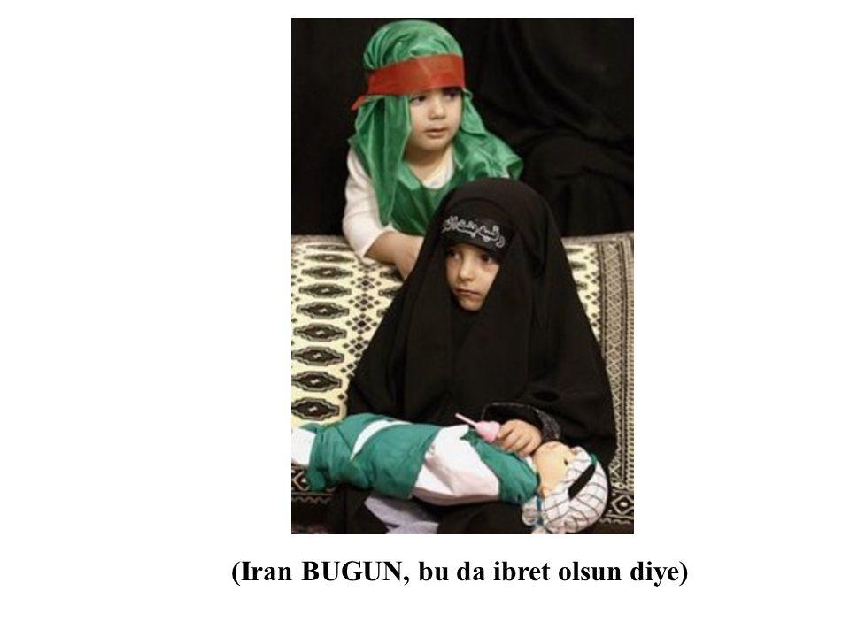 (Iranli kadin BUGUN, bir recm toreni esnasinda kaydedilmis