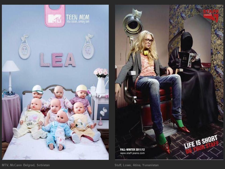 MTV, McCann Belgrad, Sırbistan Stuff, Lowe, Atina, Yunanistan