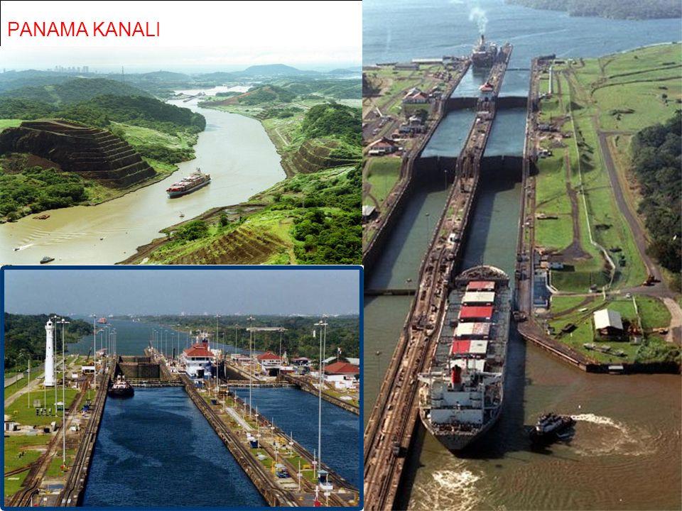 Bering boğazı Cebeli Tarık Boğazı Süveyş Kanalı Panama Kanalı Akdeniz'den Kızıldeniz'e geçiş için yapılan yapay geçiş bölümüdür. Osmanlı devleti 1869'