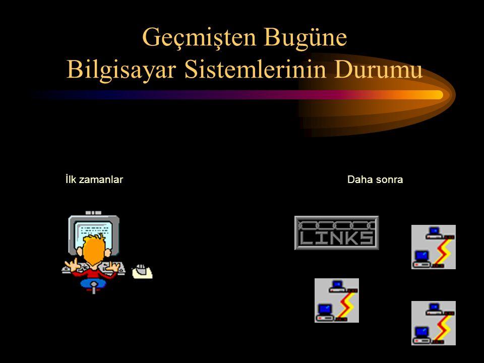 Şimdiki durumSon dönemde ve gelecekteki durum ise Geçmişten Bugüne Bilgisayar Sistemlerinin Durumu (devam)