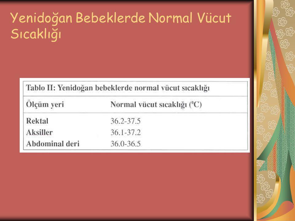 Yenidoğan Bebeklerde Normal Vücut Sıcaklığı