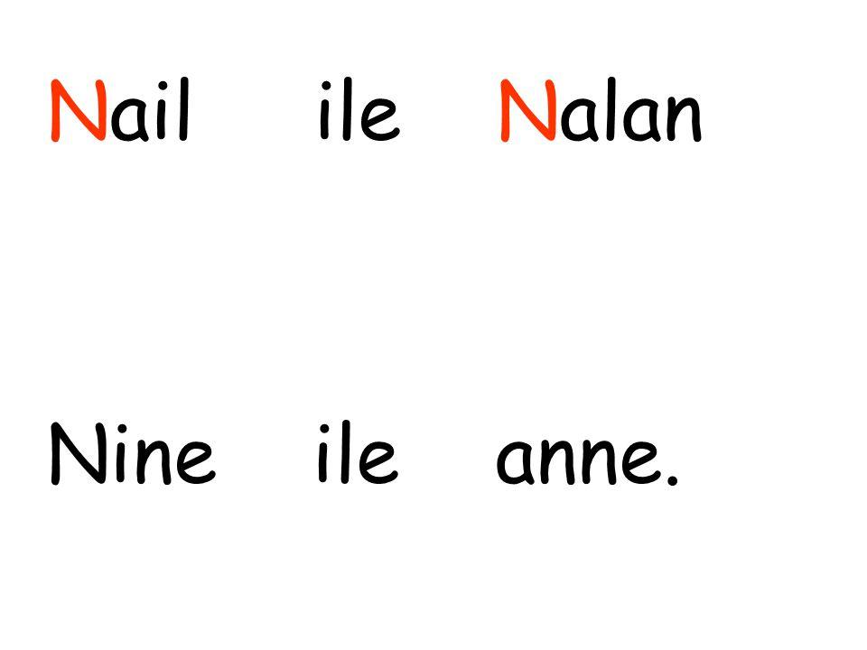 Nail ile Nalan Nine ile anne.