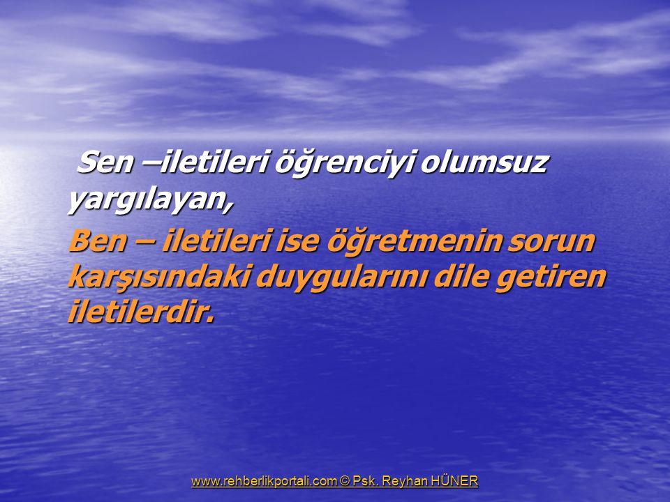 www.rehberlikportali.com © Psk.