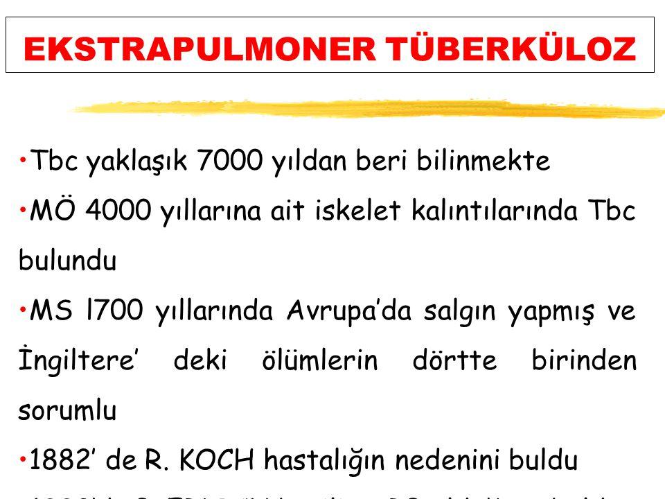 TÜBERKÜLOZDA HIZLI TANI YÖNTEMLERİ 4.