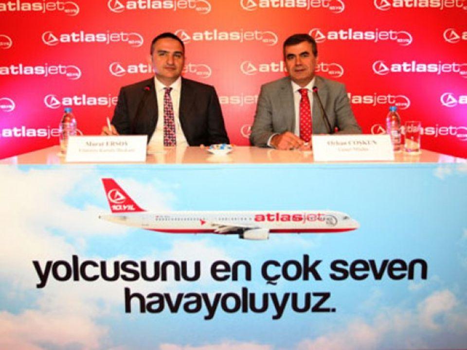 ► Atlasjet Havacılık A.Ş.14 Mart 2001 tarihinde Öger Holding A.Ş.