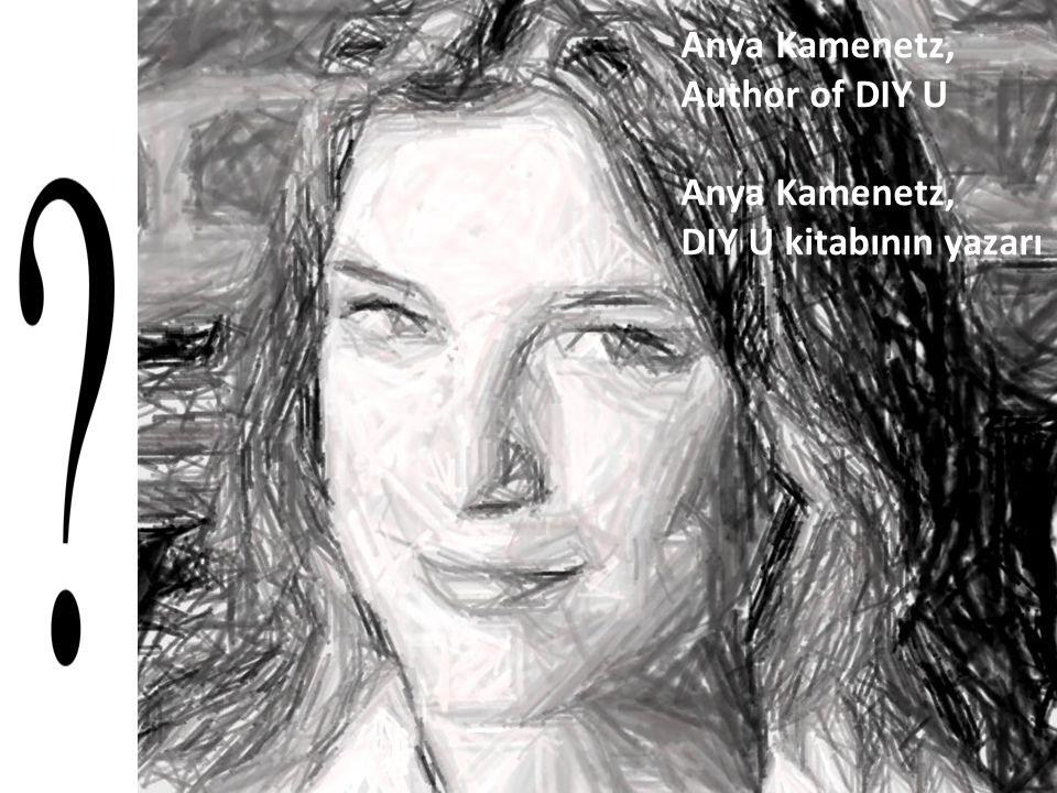 Anya Kamenetz, Author of DIY U Anya Kamenetz, DIY U kitabının yazarı