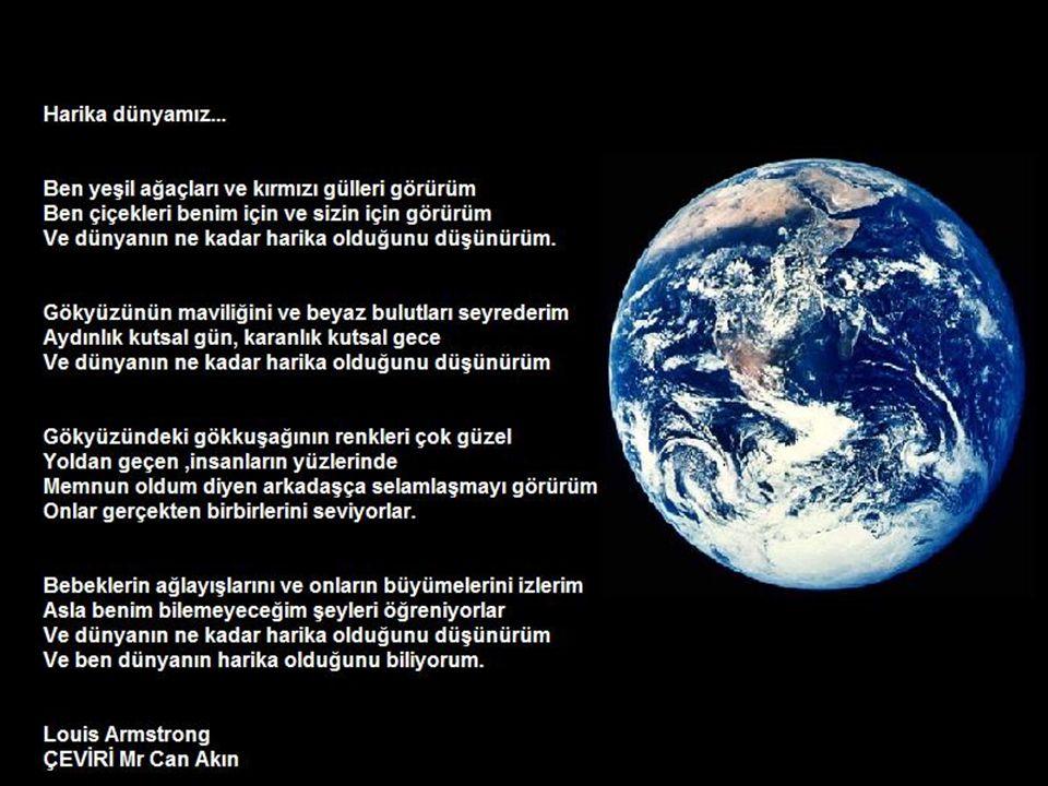 Dünya Güneş ve ay