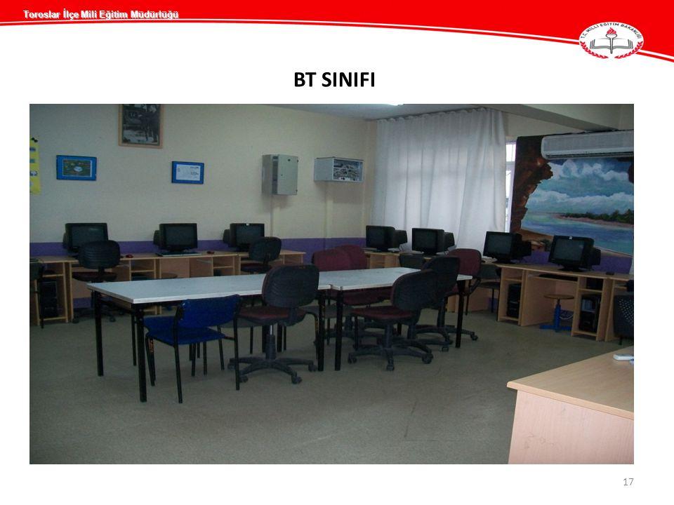 BT SINIFI 17 Toroslar İlçe Mili Eğitim Müdürlüğü