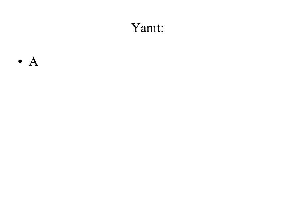 5)Aşağıdaki cümlelerin hangisinde altı çizili sözcük iş fiilidir.