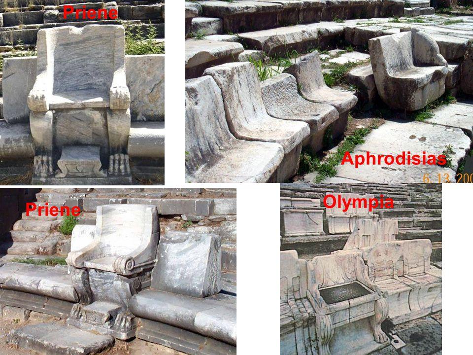 Aphrodisias Priene Olympia