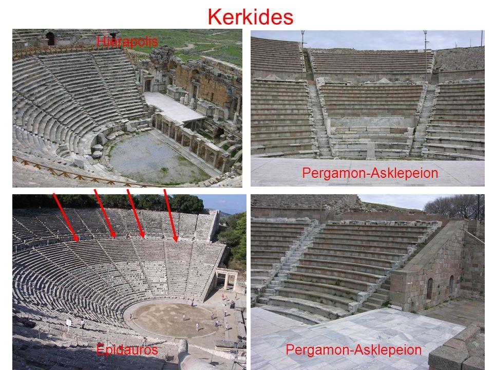 Kerkides Pergamon-Asklepeion Hierapolis Epidauros