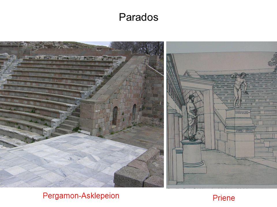 Parados Priene Pergamon-Asklepeion