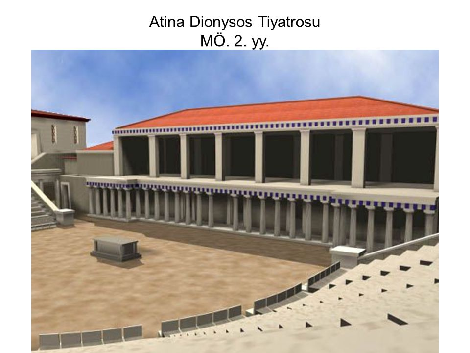 Atina Dionysos Tiyatrosu MÖ. 2. yy.