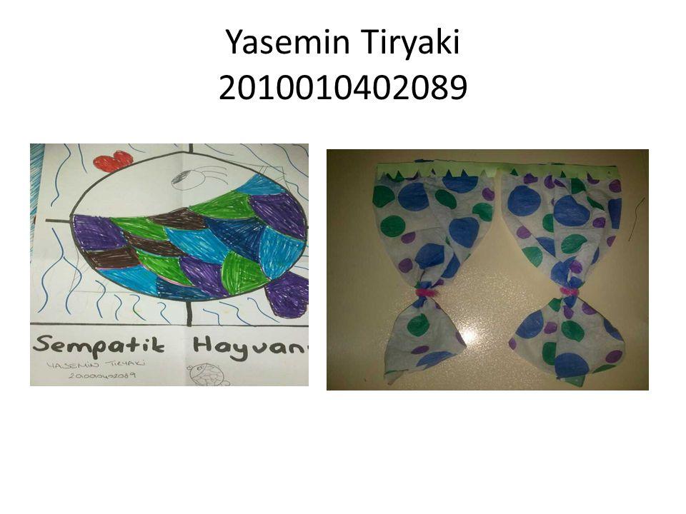 Yasemin Tiryaki 2010010402089
