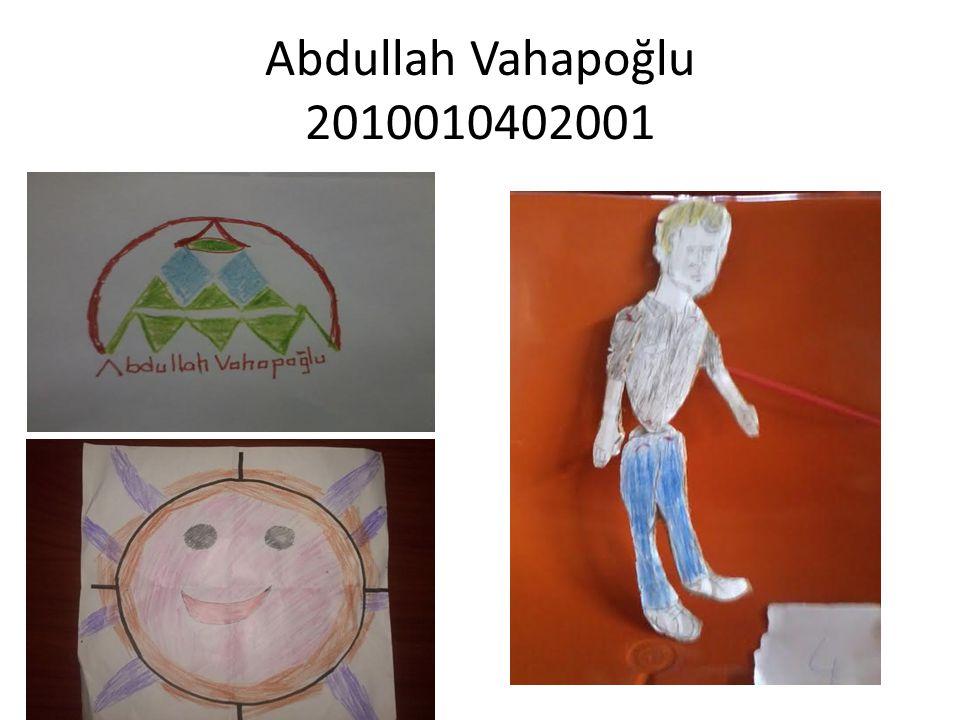 Abdullah Vahapoğlu 2010010402001
