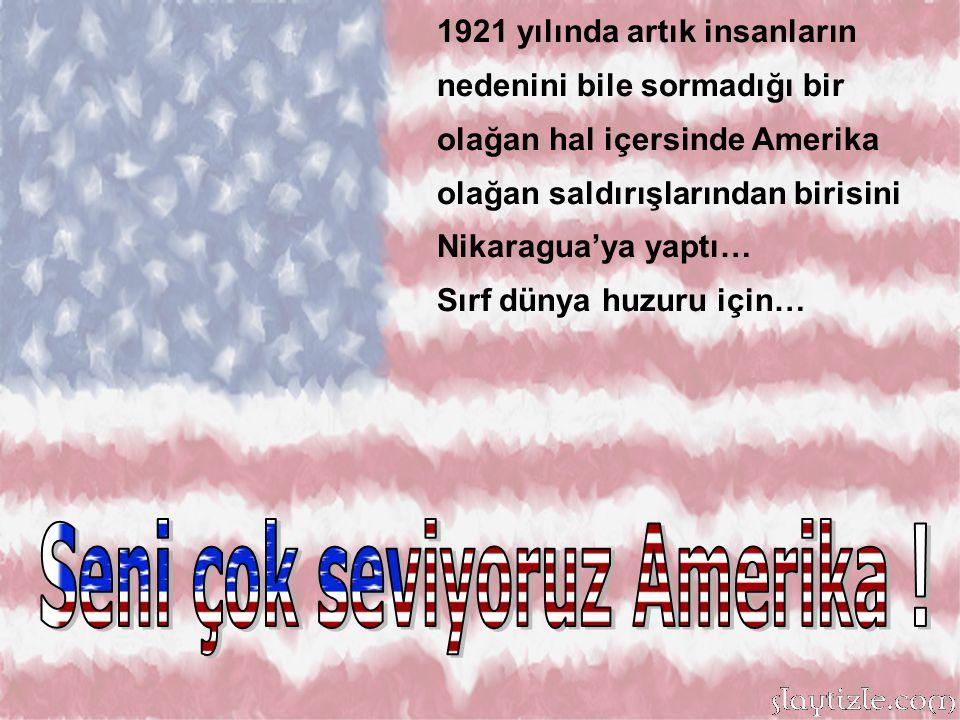 Vietnam'da halka yaptıkları Vahşet olarak tanımlansa da, biz biliyoruz ki dünya nüfusunun düzeninden sorumlu olduğu için yapmıştır Canımız Amerika!
