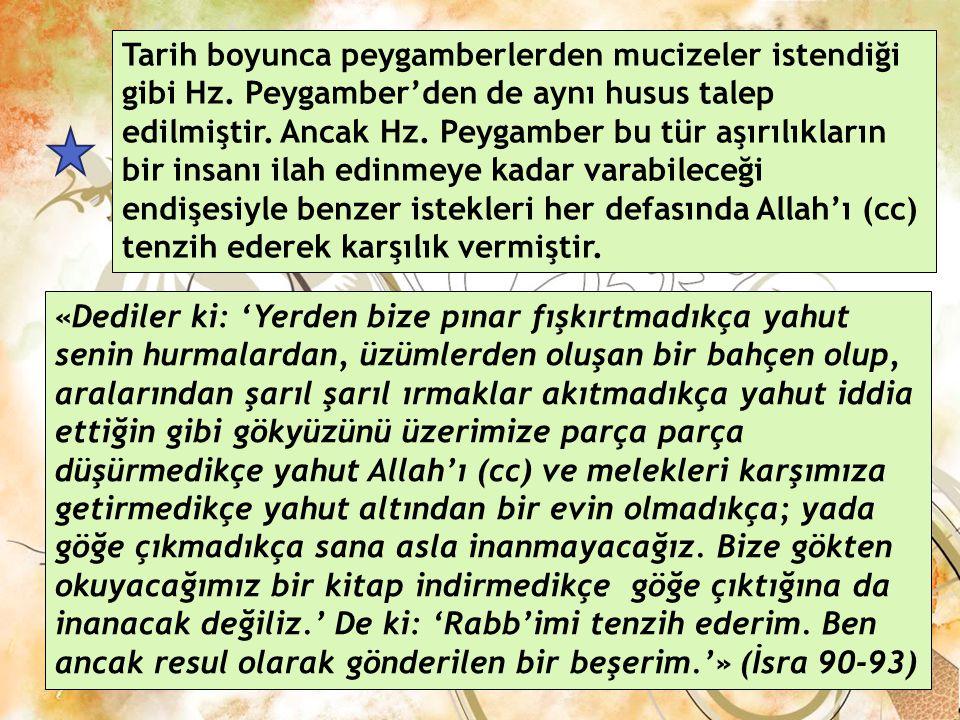 Hz. Muhammed'in Beşeri Yönü Hz. Muhammed Allah'ın (cc) peygamber olarak görevlendirdiği bir insandı. Her insan gibi O'da sevinir, üzülür, yer, içer, e