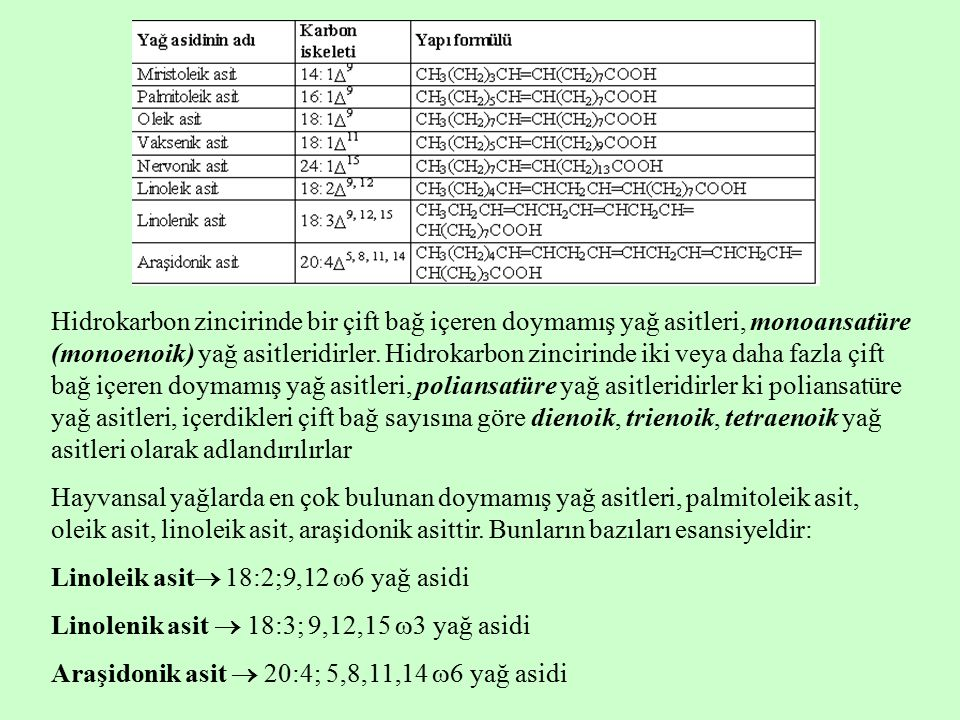 Ek gruplu yağ asitleri, hidrokarbon zincirlerinde hidroksil grubu veya metil grubu gibi ek gruplar içeren yağ asitleridirler