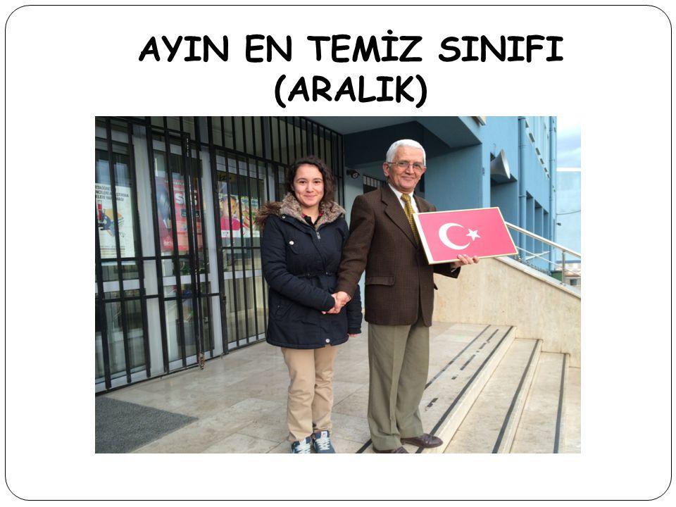 AYIN EN TEMİZ SINIFI (ARALIK)