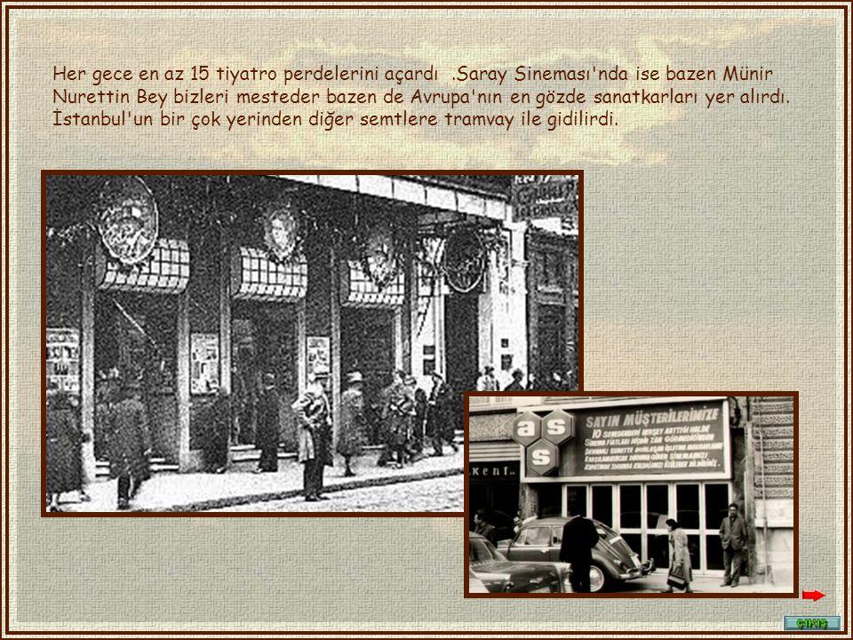 Eskiden Beyoğlu parfüm ve çikolata kokardı. İpek kumaşlar satılırdı.