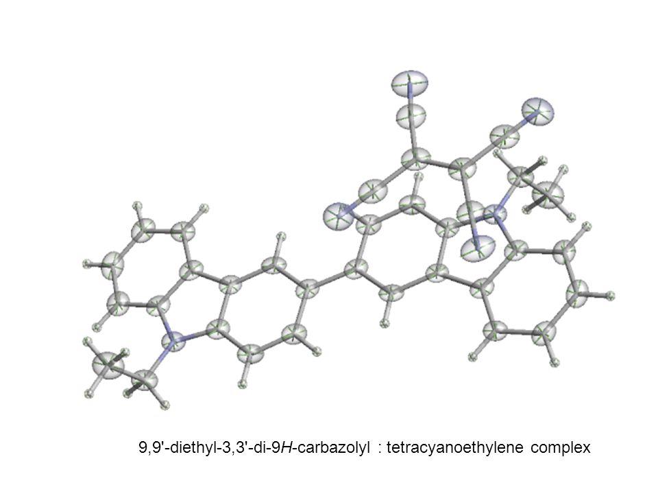 9,9 -diethyl-3,3 -di-9H-carbazolyl : tetracyanoethylene complex