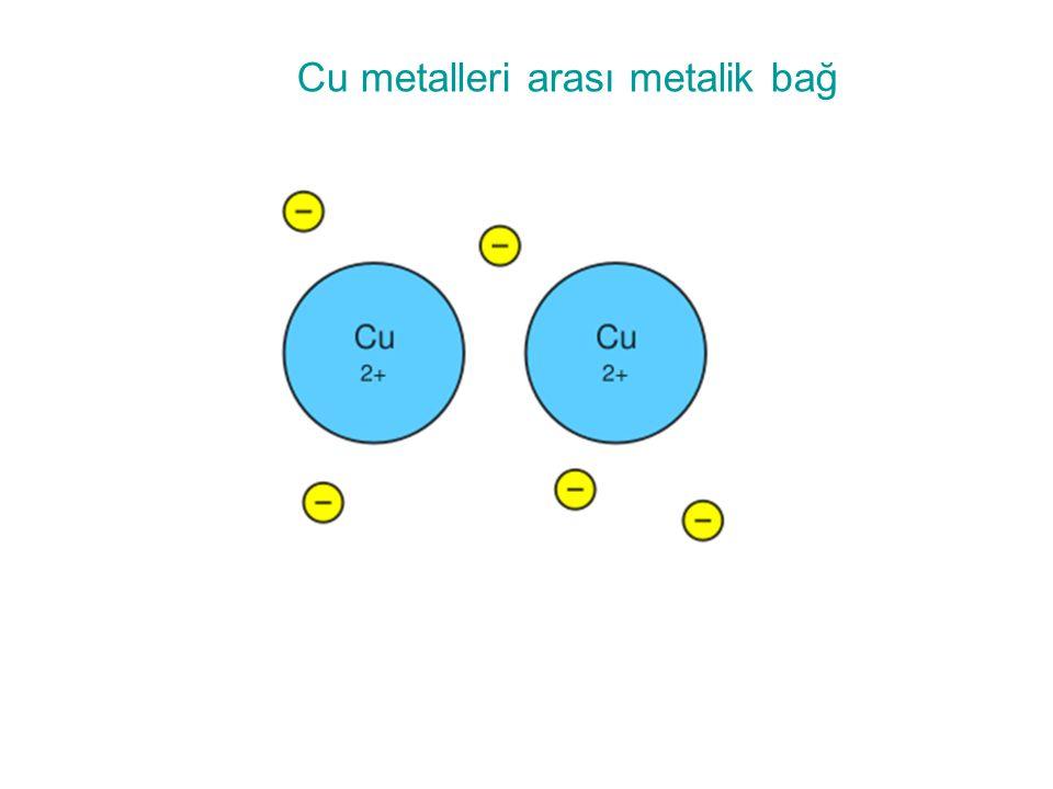 Cu metalleri arası metalik bağ