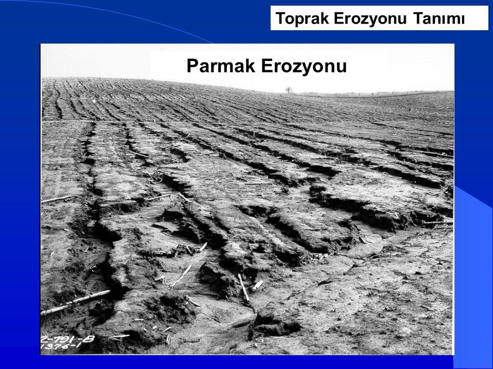 Parmak Erozyonu Toprak Erozyonu Tanımı