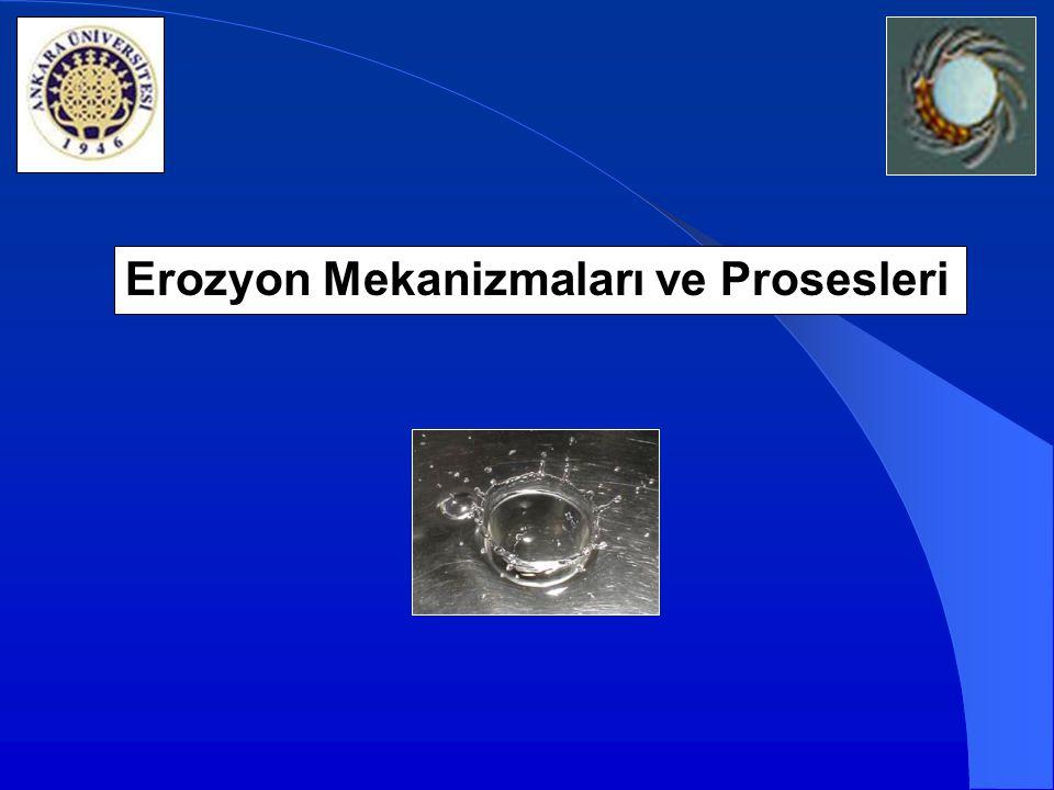 Erozyon Mekanizmaları ve Prosesleri