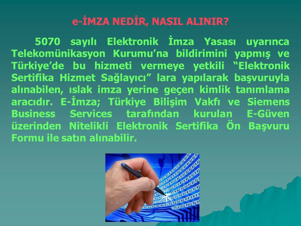 KİŞİYE ÖZEL ŞİFRE NEDİR, NASIL ALINIR.