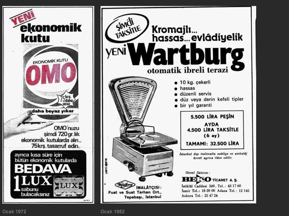 Ocak 1972 Ocak 1982
